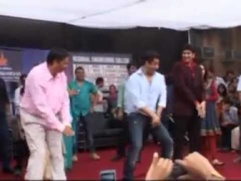 Salman in Deepshikha College, Regional Engineering College Jaipur, Regional College