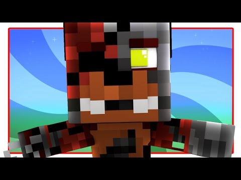 FNAF World - WITHERED FOXY! (Minecraft FNAF World Roleplay