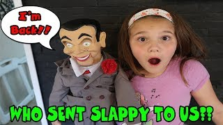 Slappy's Back! Did The Doll Maker Mail A Mystery Package With Slappy To Us!