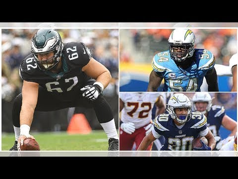 de81ecbe399 2018 Pro Bowl Snubs: What About Jason Kelce, Melvin Ingram or Alex Smith?
