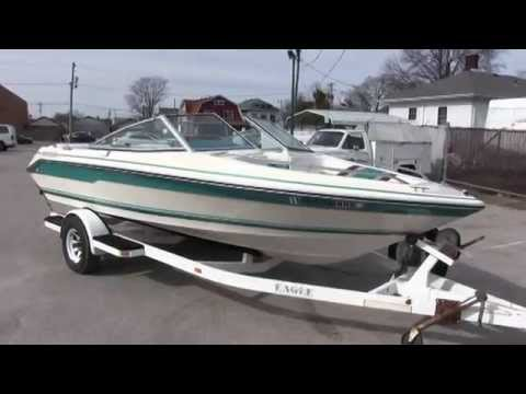 1990 Sea Ray 180 runabout boat with 4.3 liter V-6 inboard walk-through tutorial