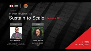 Sustain to Scale I Women Founder Journey with Rashi Mittal