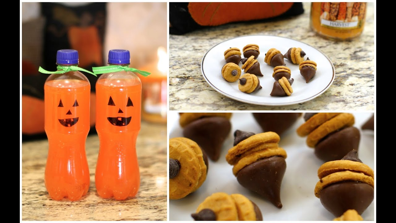 Fall treats diy autumn party food ideas youtube for Diy cooking