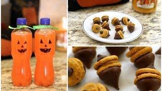 Fall Treats   Diy Autumn Party Food Ideas
