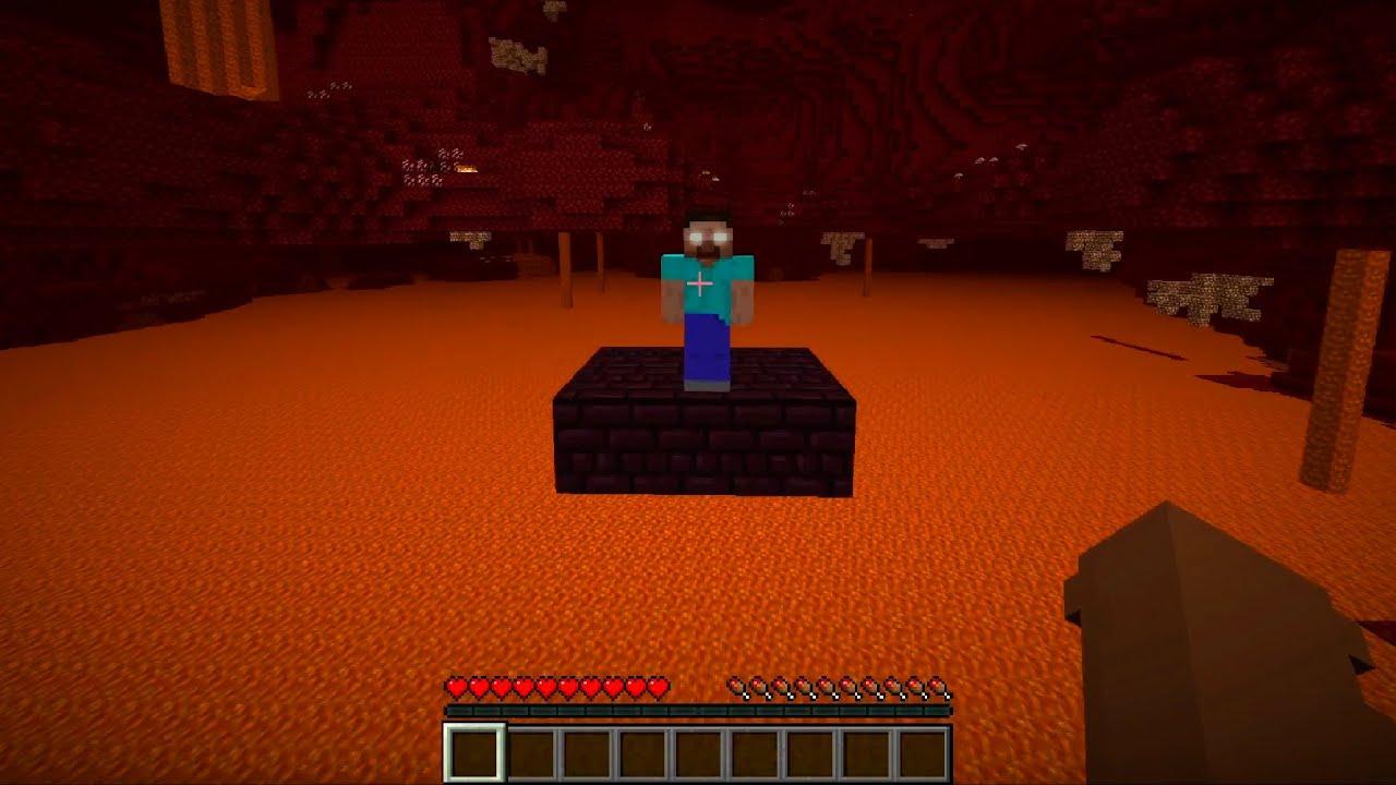 Minecraft: HEROBRINE Parkour Edit