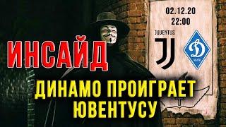 Результат матча Ювентус Динамо Киев был известен за ранее Лига Чемпионов Новости футбола