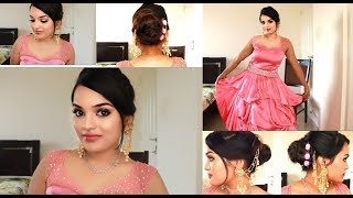 Christian bridal makeup and hairstyle easy | Go Glam with Keerthy