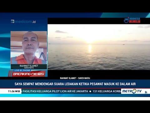 Saksi Mata: Terjadi Ledakan Setelah Lion Air JT610 Jatuh ke Laut