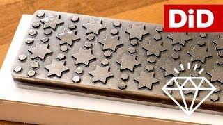 750. Diamentowa płyta do planowania kamieni - Nano Hone Ridge Tech NL-5 z Dictum