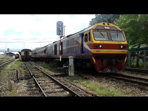 รถไฟไทย สายใต้ : ด่วนพิเศษ ข.35 ก่อนเข้าแดนมาเลเซีย