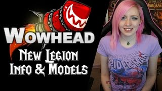 legion datamining   new models info   wowhead downtime tuesday 40