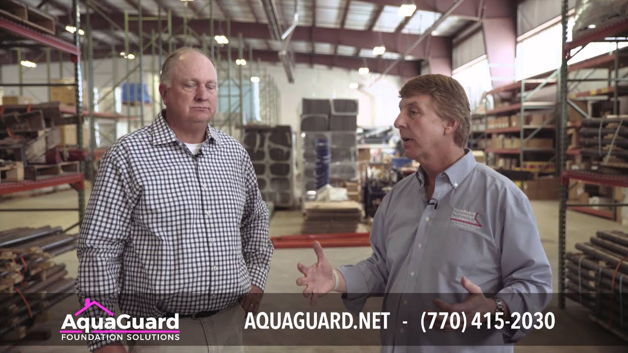Dave Baker and AquaGuard Foundation Solutions