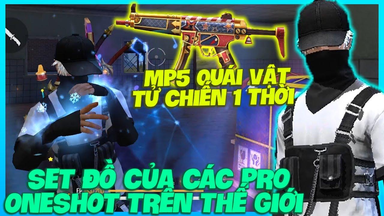 MP5 TĂNG 2 TỐC ĐỘ BẮN QUÁI VẬT VUỐT TÂM NHƯ HẮC, HÙNG TEST ĐỒ CỦA PRO ONESHOT RA ĐẠN LÀ DAME VÀNG