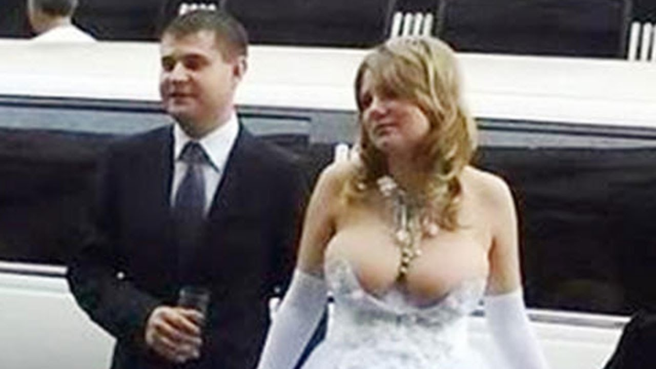 10 Worst Wedding Dresses that you\'ll have to see to believe - YouTube