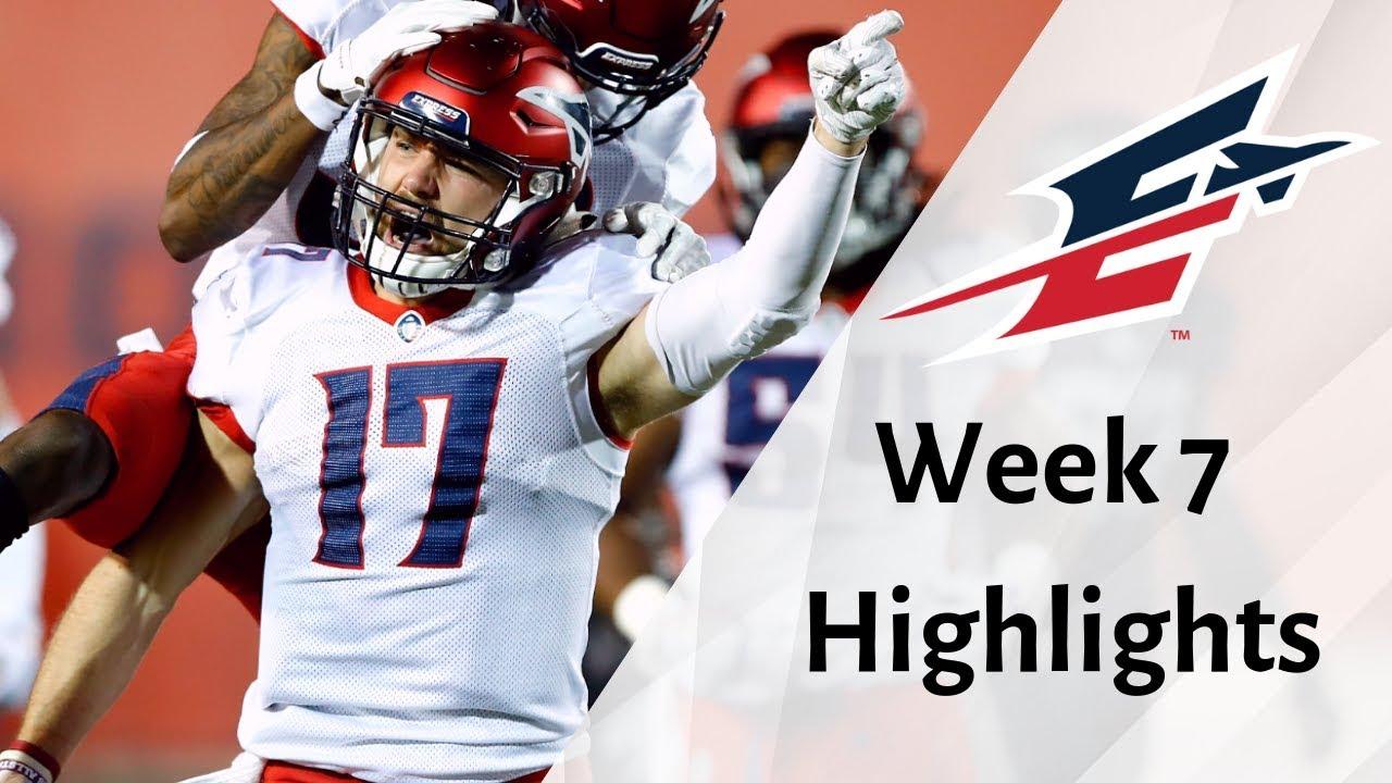 AAF Week 7 - Memphis Express Highlights - Alliance of American Football
