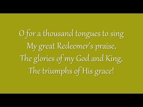 O for a Thousand Tongues to Sing (Metropolitan Tabernacle)