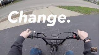 Channel update - Rebranding - Quick ride on the mini bike