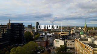 Dortmund City in 4K 🇩🇪 Germany  #mavicair2 #dji مدينة دورتموند
