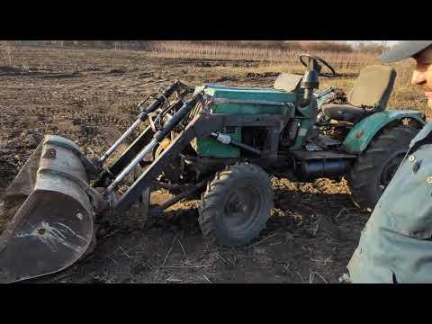 Погрузчик своими руками на самодельный трактор