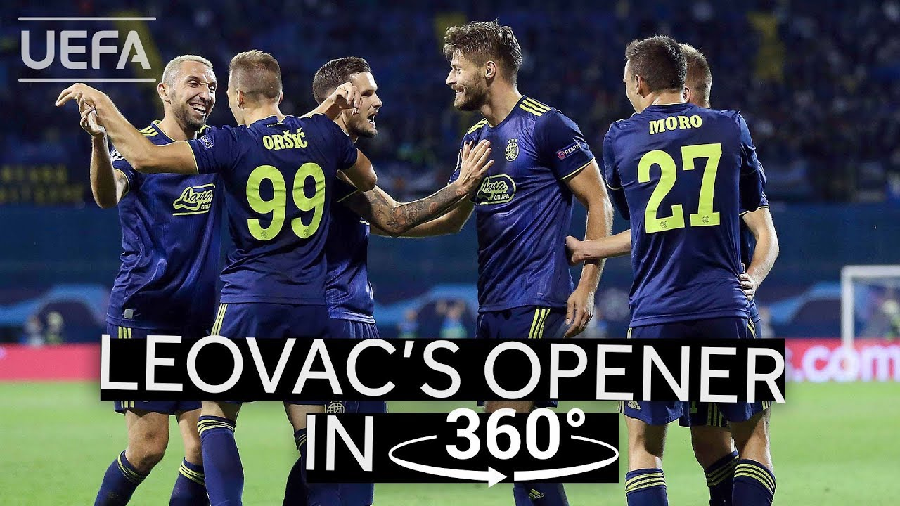 Leovac S Opening Goal Against Atalanta In 360 Ucl Highlights Youtube