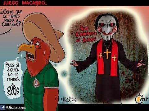 MEMES MEXICO CURAZAO 2-0 #CUWvMEX #COPAORO2017 #GOLDCUP2017 ROTACIONES osorio