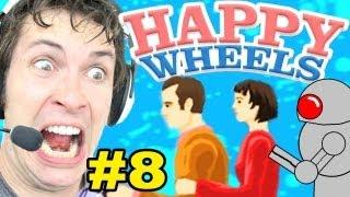 Happy Wheels - FREAKING ROBOT - Part 8