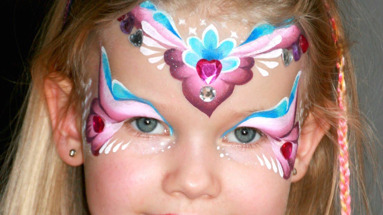 Maquillage De Princesse Des Coeurs Tutoriel Maquillage Des Enfants