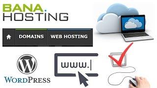 Comprar El Mejor Hosting y Dominio Economico | Configurar Dominio y Hosting Desde Cero Banahosting