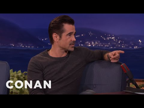 Colin Farrell Wants To See Conan Naked At The Spa  - CONAN on TBS