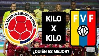 COLOMBIA VS VENEZUELA - KILOXKILO ELIMINATORIAS QATAR 2022 - ¿QUIÉN GANARÁ?