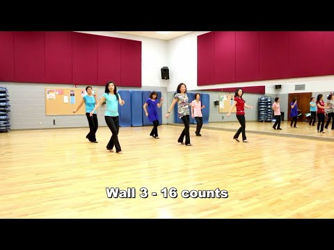 The Gong Gong Dance - Line Dance (Dance & Teach In English & 中文)