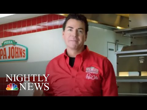 Papa John's Founder Resigns Amid Backlash After Admitting He Used The N-Word | NBC Nightly News