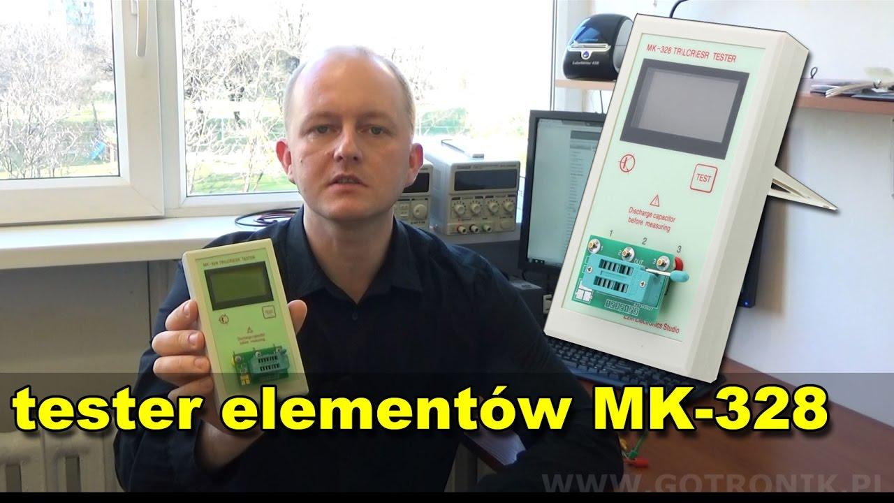 Miernik Elementw Elektronicznych Lcr Mk 328 Youtube Tester Graphic Display Rlc Esr Meterin Integrated Circuits Premium