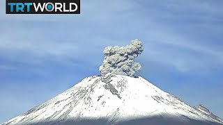Mexico Volcano: Massive Volcano Popocatepetl Erupts