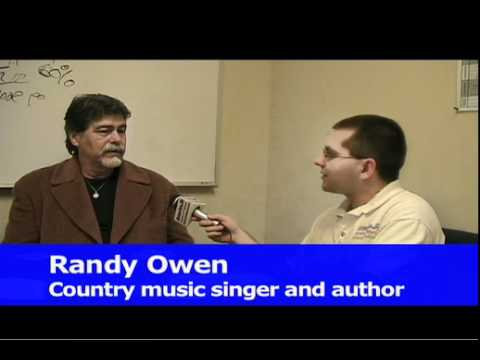 Exclusive interview with Randy Owen, lead singer of Alabama, at Borders in Taylor, MI