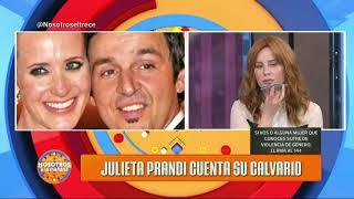 Violencia Familiar: Julieta Prandi preocupada por el vencimiento de perimetral a su ex marido