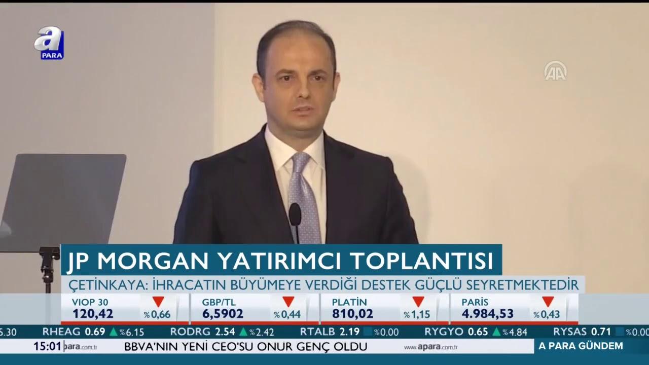 Merkez Bankası Başkanı Murat Çetinkaya: Ekonomideki dengelenme eğilimi belirginleşti.