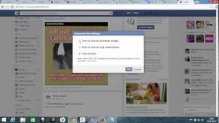 How to turn off chat for one person in facebook ?
