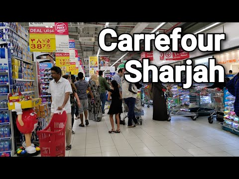 Carrefour Sharjah 16 March 2020