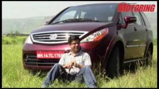 Tata Aria review - Business Standard Motoring webTV!