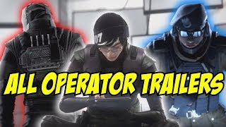 Rainbow Six Siege All New Operators Trailer Operation White Noise Vigil Dokkaebi Zofia