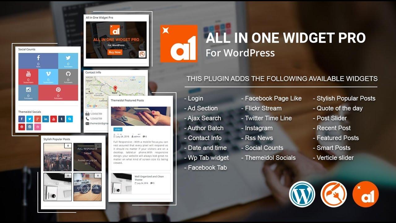 All-in-one Widget | WordPress org