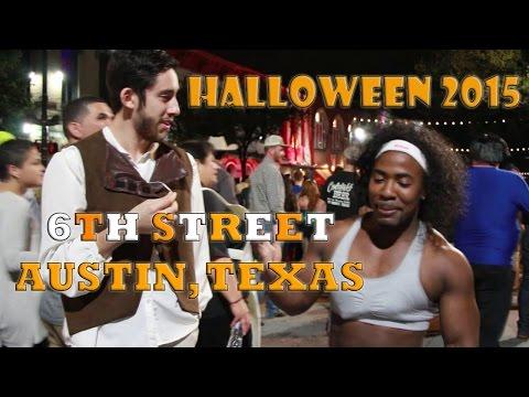 ATX 6TH Street Halloween – Lie for Me Prank/Costume Interviews