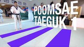 Poomsae på svenska - Taeguk 1 Jang