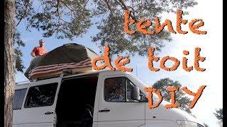van life une tente de toit diy pour 200