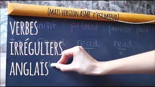 ASMR   Une manière plutôt cool d'apprendre ses verbes irréguliers