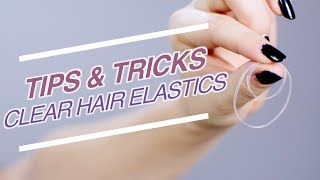 MUST KNOW Tips & Tricks for Clear Hair Elastics | Milabu