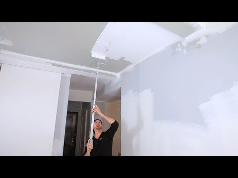 How to Paint a Ceiling | House Painting