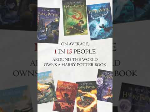 500 million copies of Harry Potter books have been sold around the world!