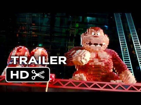 Pixels TRAILER 1 (2015) - Adam Sandler, Peter Dinklage Video Game Action Movie HD